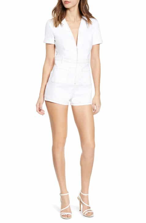 2ac7bbd22e49 Women s White Jumpsuits   Rompers