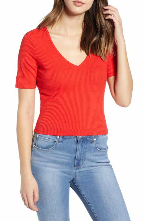 Leith Ribbed Crop Top