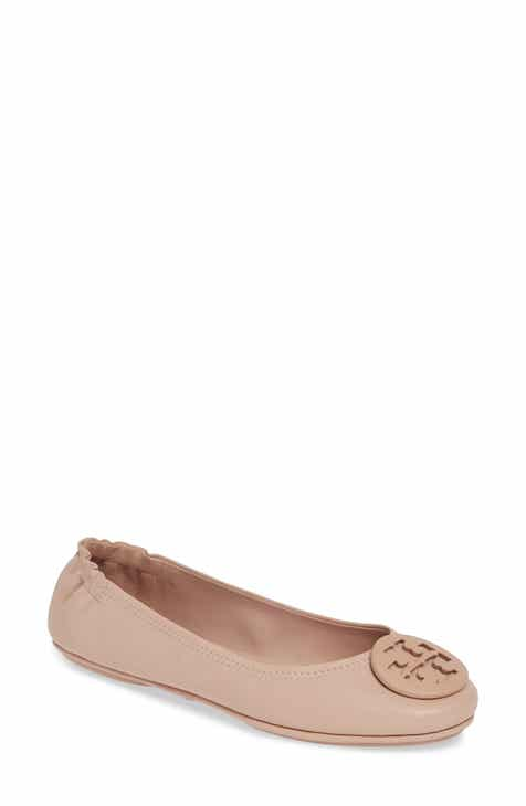 cfb0146deb773 Tory Burch  Minnie  Travel Ballet Flat (Women)