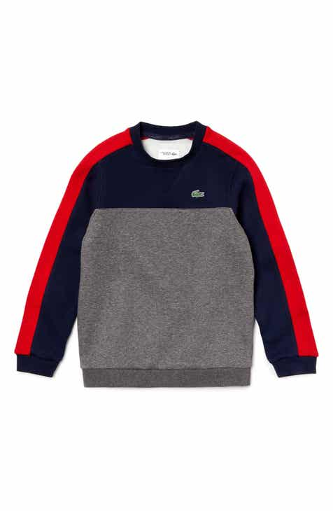 5107db3d3f1c Lacoste Colorblock Sweatshirt (Little Boys)