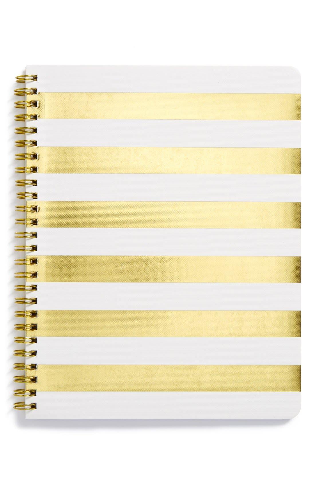 Alternate Image 1 Selected - sugar paper 'Small Stripe' Spiral Notebook