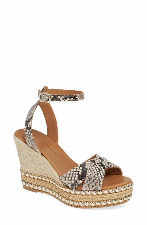 Kurt Geiger London Amelia Ankle Strap Wedge (Women)