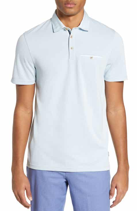 ce5a4b272 Ted Baker London Coller Slim Fit Polo with Woven Collar