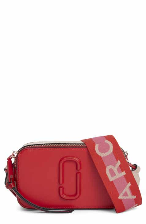 6f17e9870d MARC JACOBS Snapshot Leather Crossbody Bag