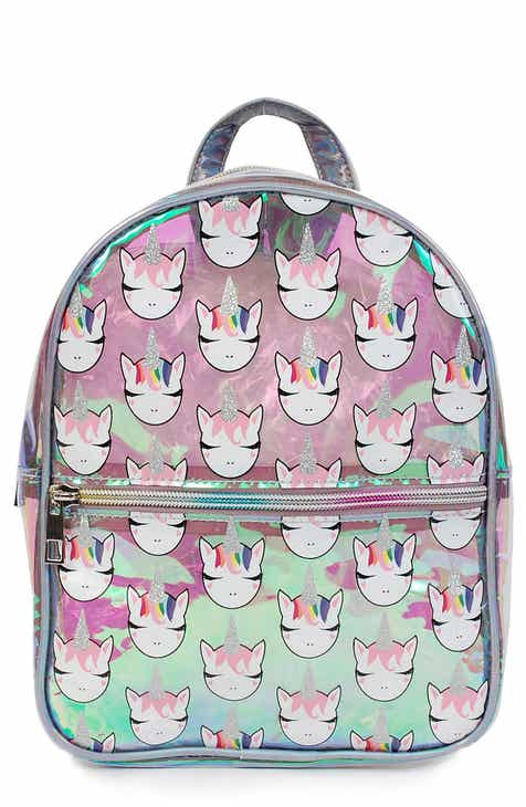 9c157b53875c OMG Hologram Glitter Unicorn Mini Backpack (Kids).  40.00. Product Image