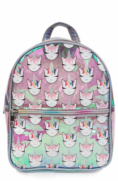 c42cb0d9750a OMG Hologram Glitter Unicorn Mini Backpack (Kids)