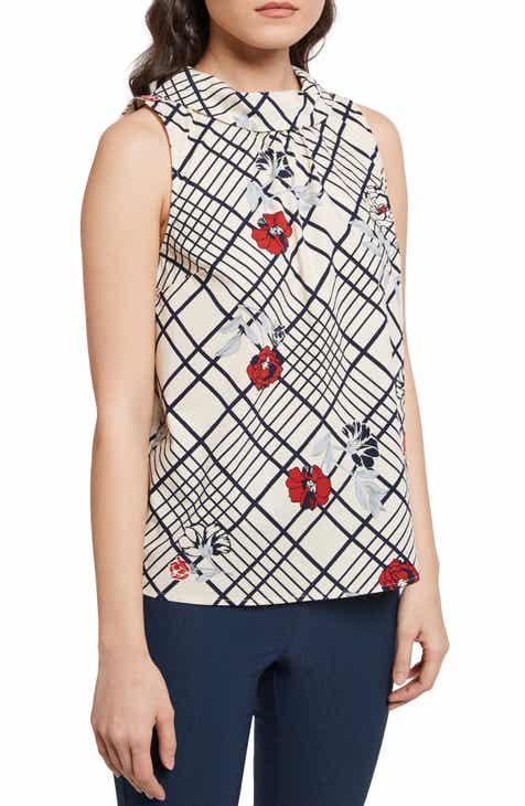 7d5534ae1a7 ModCloth Floral Plaid Top (Regular   Plus Size)
