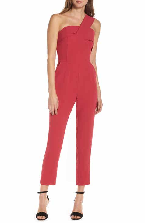 ceb5d9bd1781 Adelyn Rae Brooklyn One-Shoulder Jumpsuit