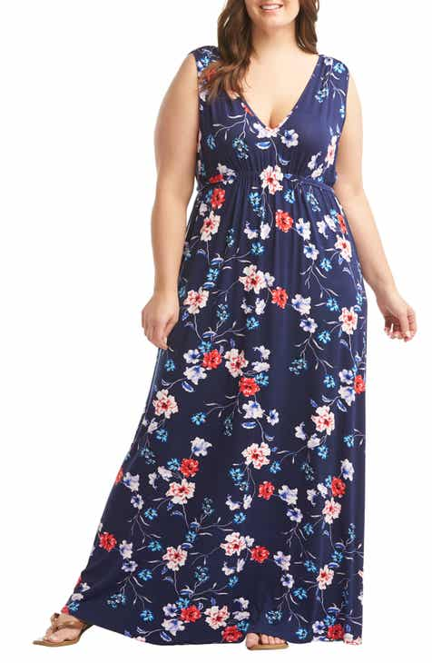 2ccf1ec5c41a Lemon Tart Grecia Maxi Dress (Plus Size)