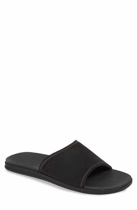 acadccedd46 OluKai Alania Slide Sandal (Men).  84.95. Product Image. TRUE BLACK