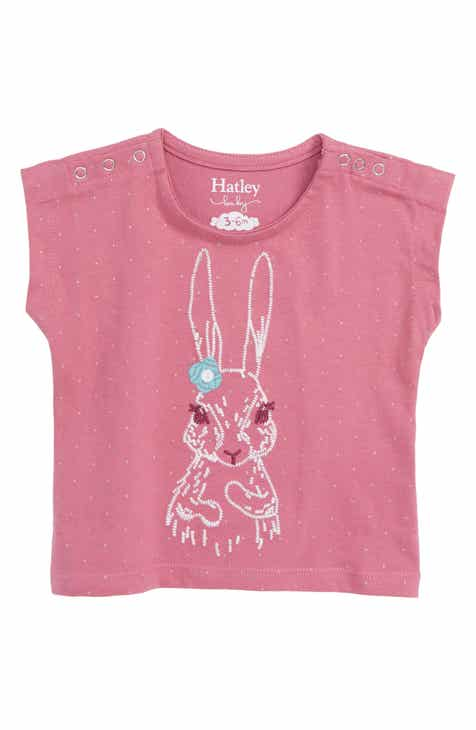5d8d0504f5 Hatley Pretty Bunny Organic Cotton T-Shirt (Baby)