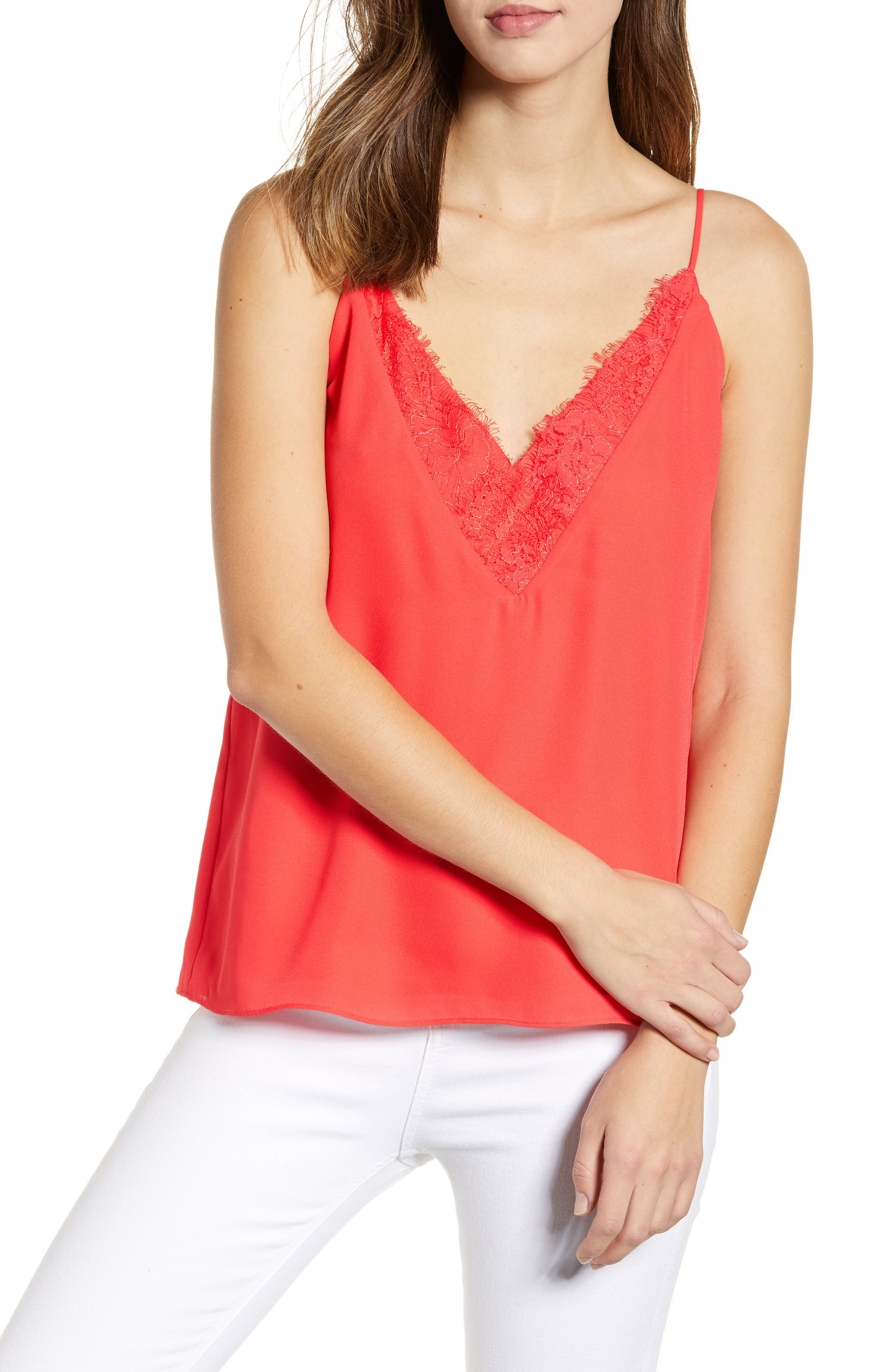 Sexy Sleeveless Top Lacy Inner Wear Buy Now Sol Lace V-neck