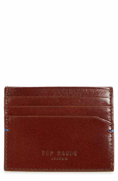c75f2b13312c97 Ted Baker London Contrast Internals Leather Card Case