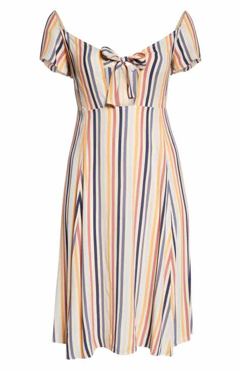 Velvet by Graham & Spencer Cabo Embroidered Cotton Swing Dress by VELVET BY GRAHAM AND SPENCER