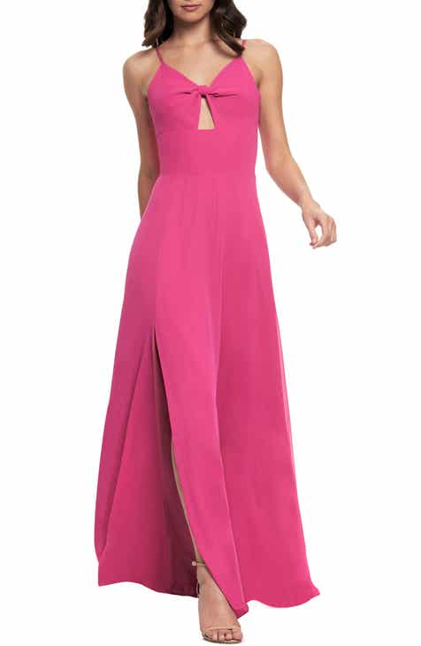 2f566d1eec0d Dress the Population Cambria Tie Bodice Evening Dress