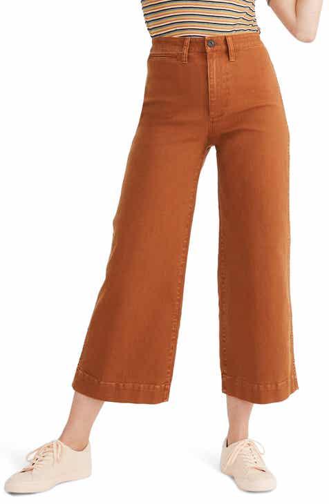 c651ff0f5ee0 Madewell Emmett Crop Wide Leg Pants