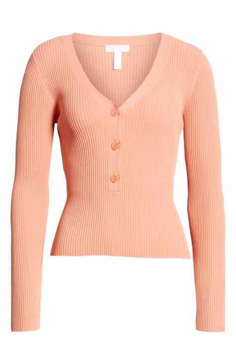 Women s Orange Sweaters  e8aa91624
