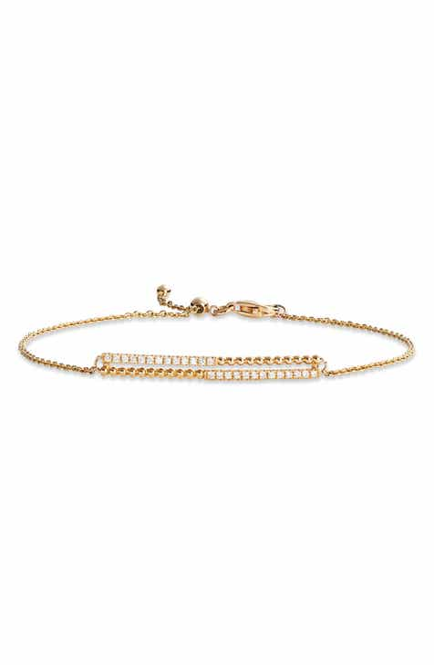 Bony Levy Diamond and 18K Gold Bead Bracelet (Nordstrom Exclusive) a2f86362521d