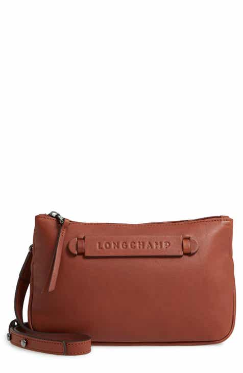 3d3a84313455bf Longchamp 3D Leather Crossbody Bag