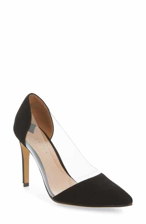 5607239fcb6 Leith Penny Clear Pointy Toe Pump (Women)