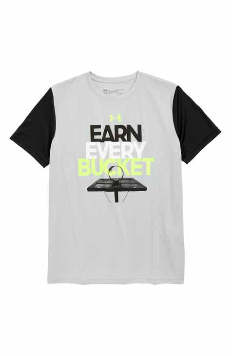 Under Armour Earn Every Bucket Graphic T-Shirt (Big Boys)