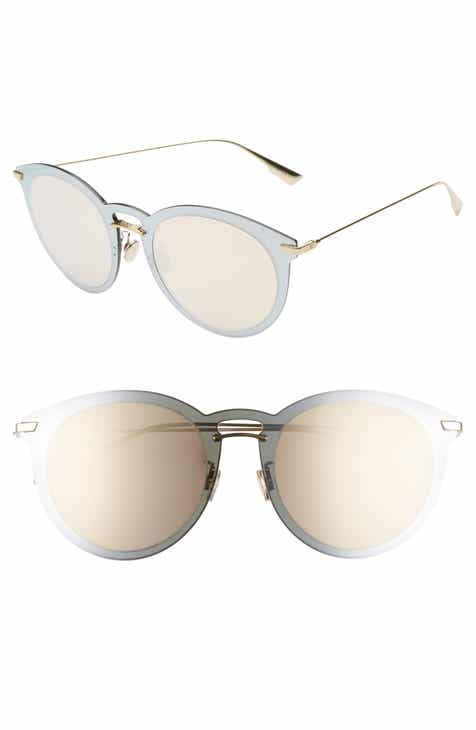 f537a250254 Dior UltimeF 53mm Round Aviator Sunglasses