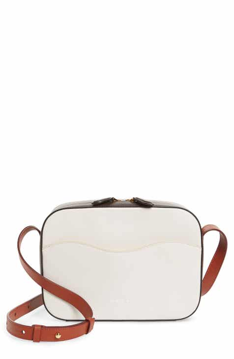 159282d48f32 Marni Small Shell Colorblock Leather Shoulder Bag
