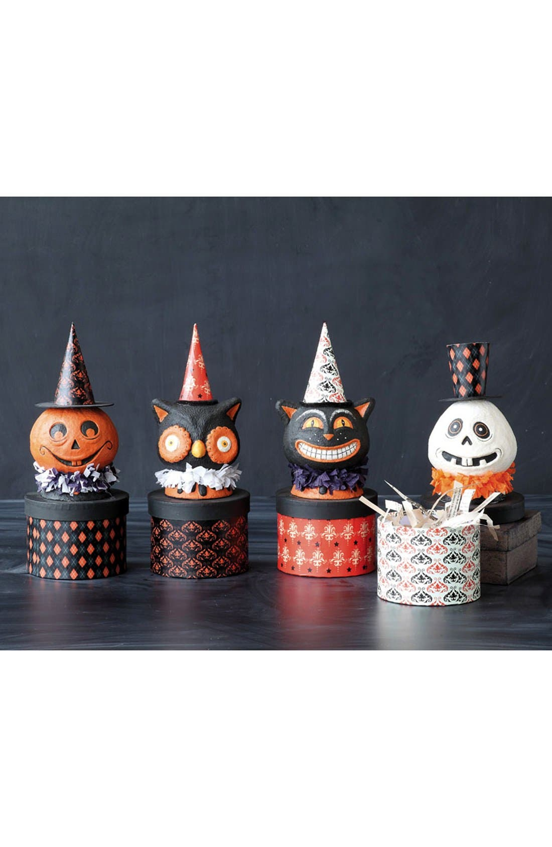 Alternate Image 2  - Creative Co-Op Halloween Cat Decorative Box