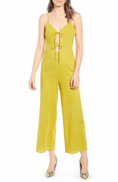 WAYF Fallon Smocked Jumpsuit by WAYF
