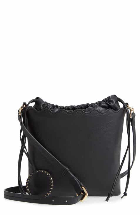 a4dd3c6422 Vince Camuto Wavy Leather Bucket Bag