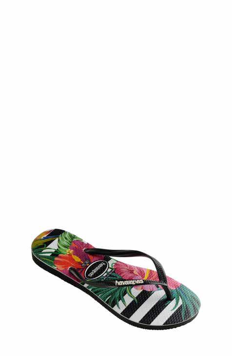 099be7bd7ae Havaianas Slim Tropical Floral Flip Flop (Toddler   Little Kid)