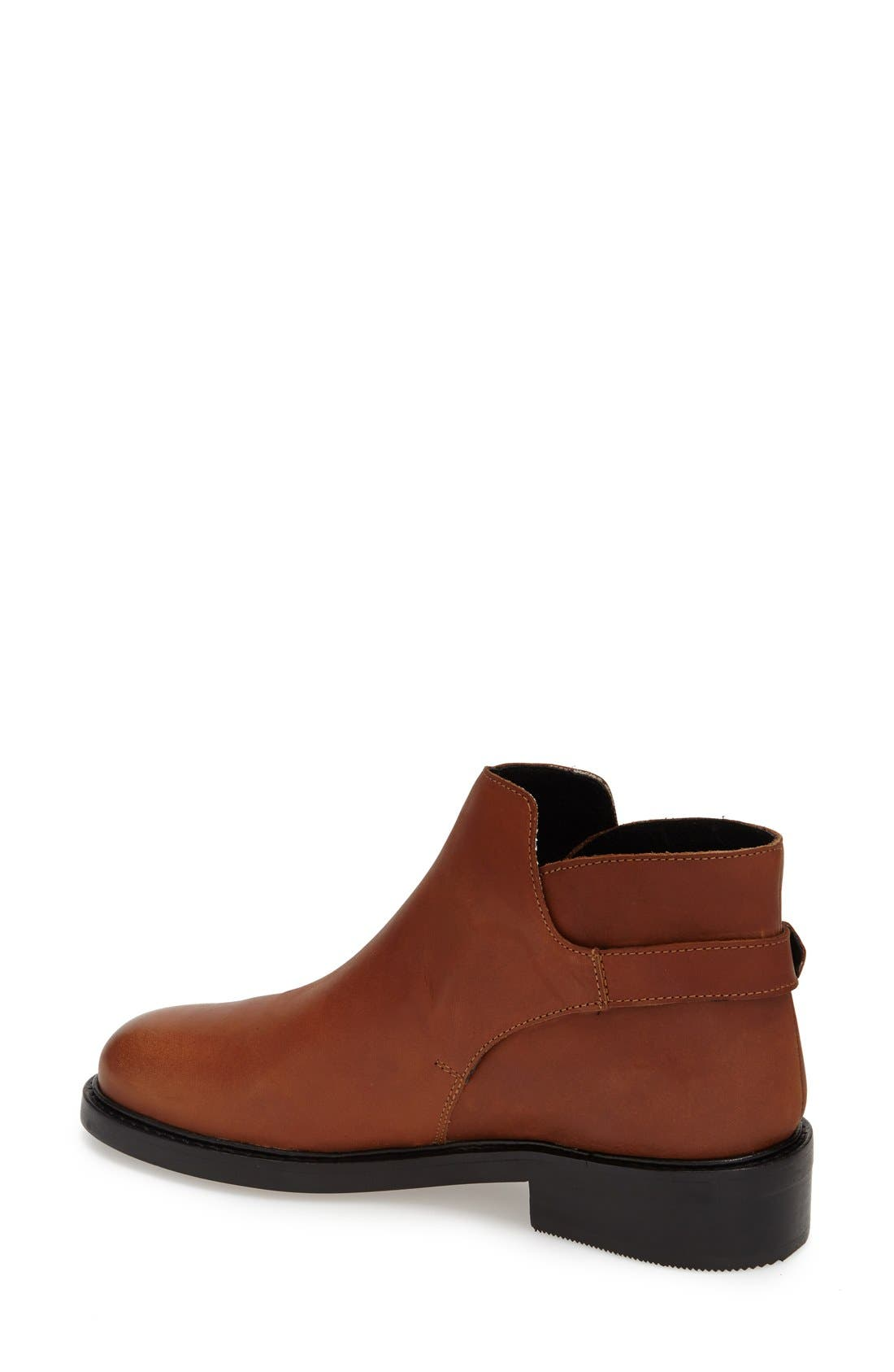 Alternate Image 2  - Topshop 'Actor' Leather Ankle Boot (Women)