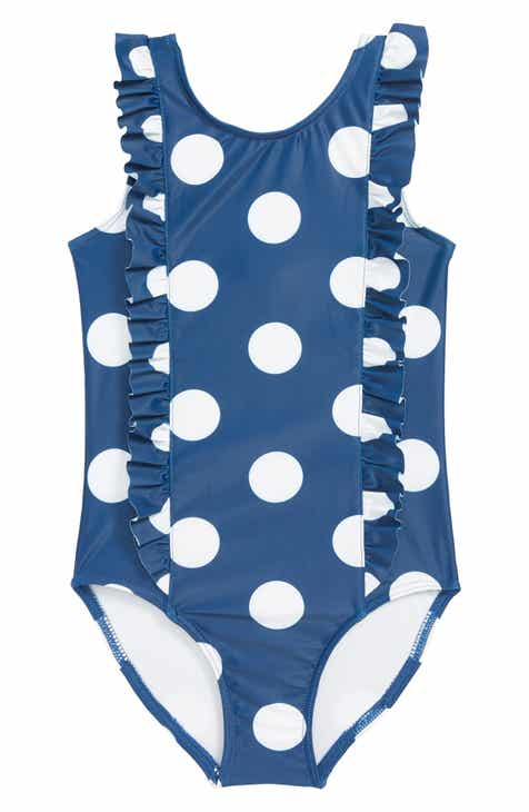 76aef7d1c05 Tucker + Tate Ruffle One-Piece Swimsuit (Toddler Girls