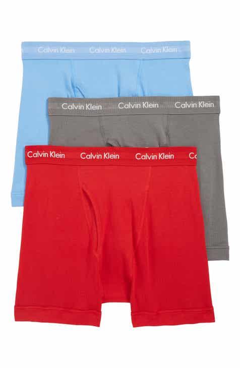 032199a74d8f Calvin Klein 3-Pack Boxer Briefs