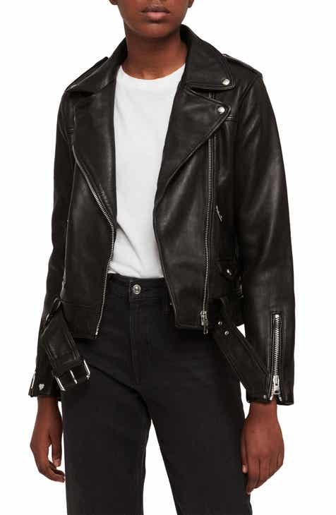 030bacd53 Women s Leather   Faux Leather Coats   Jackets