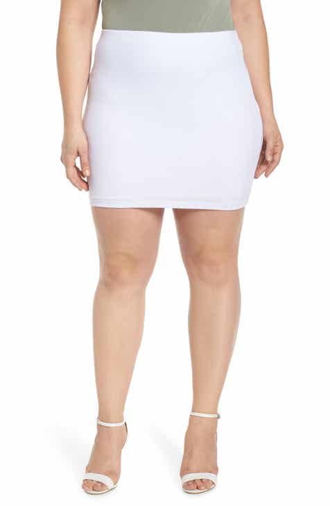 STAUD Costa Knit Midi Pencil Skirt by STAUD