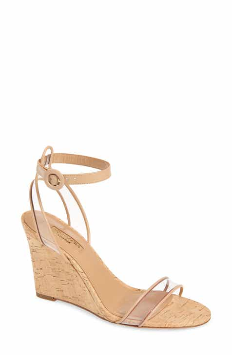 dc3fb5c3ead Aquazzura Minimalist Ankle Strap Wedge (Women)