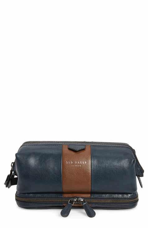 c08e2e2cba0a Ted Baker London Eyez Leather Dopp Kit