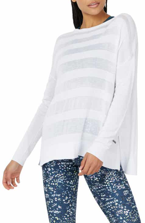 e191e039645 Sweaty Betty Dreamscape Split Back Sweater