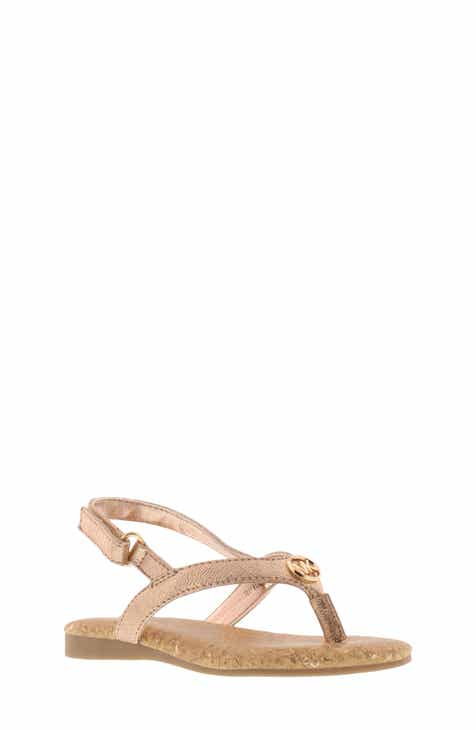 9db1f1877f47 MICHAEL Michael Kors Tilly Madison Thong Sandal (Walker   Toddler)