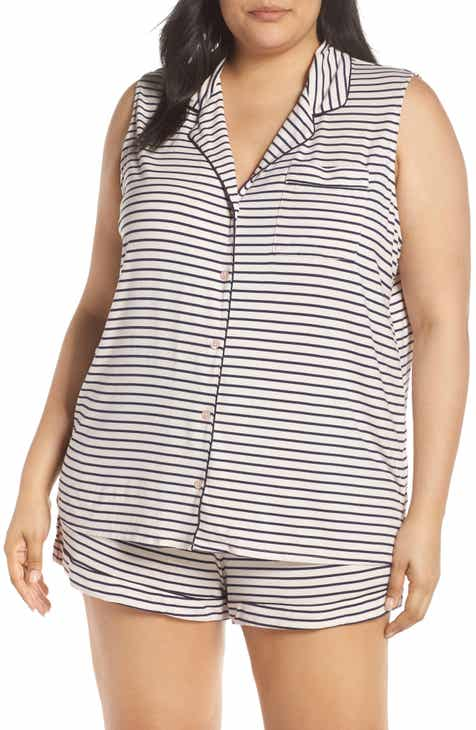 Nordstrom Lingerie Moonlight Short Pajamas (Plus Size) by NORDSTROM LINGERIE