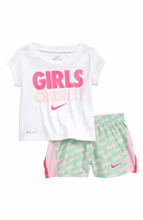 b25ac7c4e415 Nike Dri-FIT Graphic T-Shirt   Shorts Set (Baby)