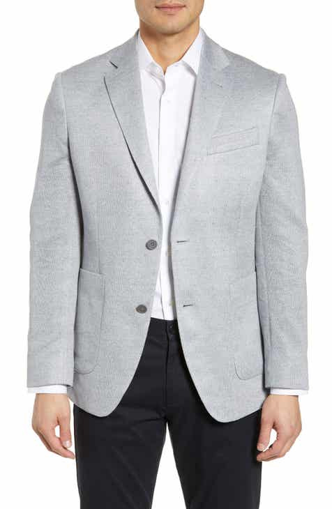 d20f8f6c55f18 Nordstrom Men s Shop Trim Fit Linen Sport Coat