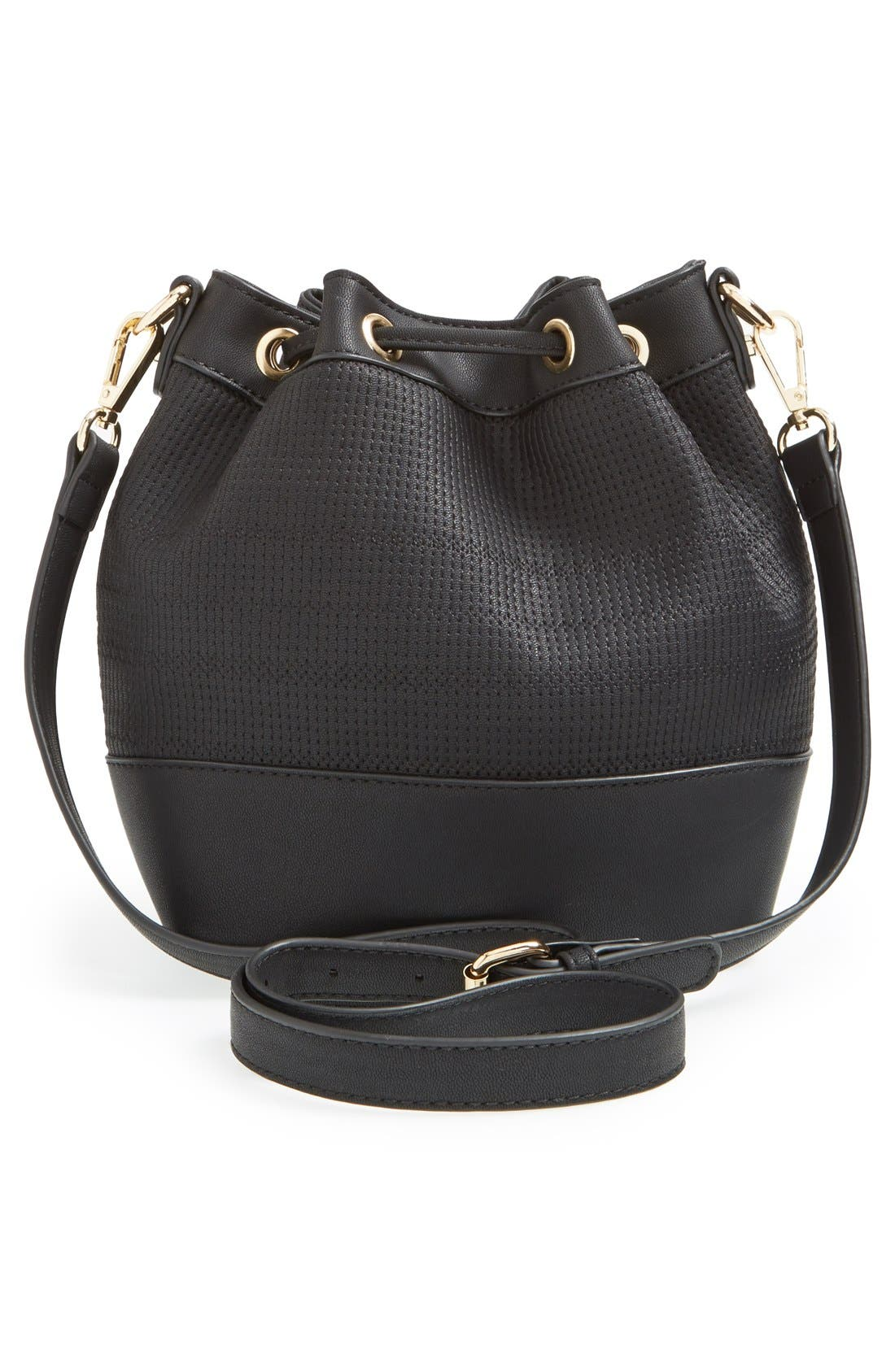 Alternate Image 4  - BP. Faux Leather Bucket Bag