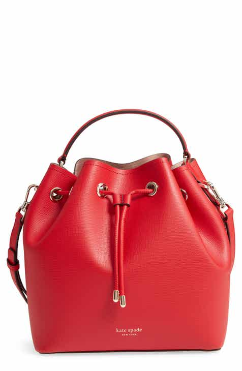 afc7932d4b kate spade new york medium vivian leather bucket bag