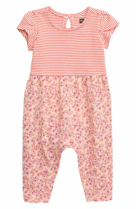 9abb4f18210 Tea Collection Tulip Sleeve Romper (Baby)