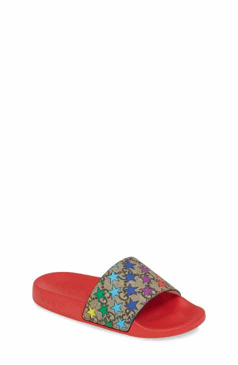 91a4177fa Gucci Pursuit Slide Sandal (Toddler, Little Kid & Big Kid)