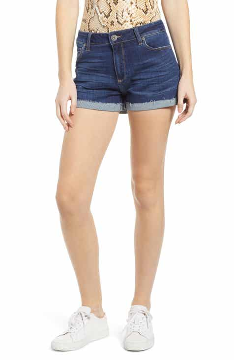 Topshop Rigid Denim Cycling Shorts by TOPSHOP