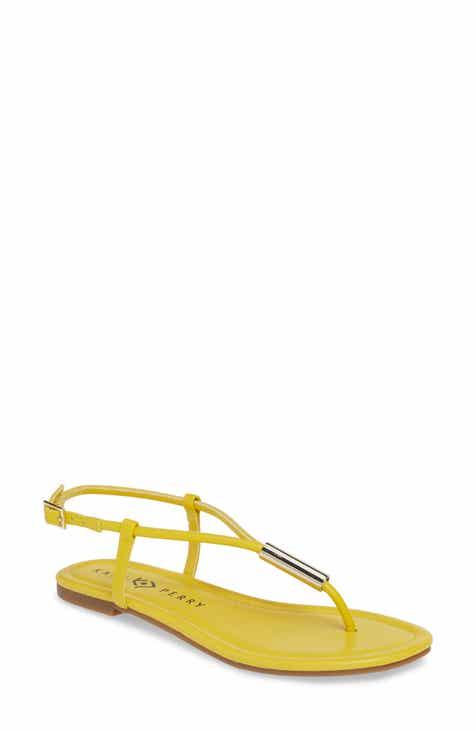 5a3d5d61e49920 Katy Perry Jule Flat Sandal (Women)