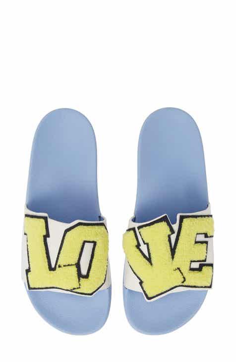 5e3e2b0ef19fd Tory Sport Love Slide Sandal (Women)